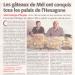 CMJ makes front page in the Midi Libre